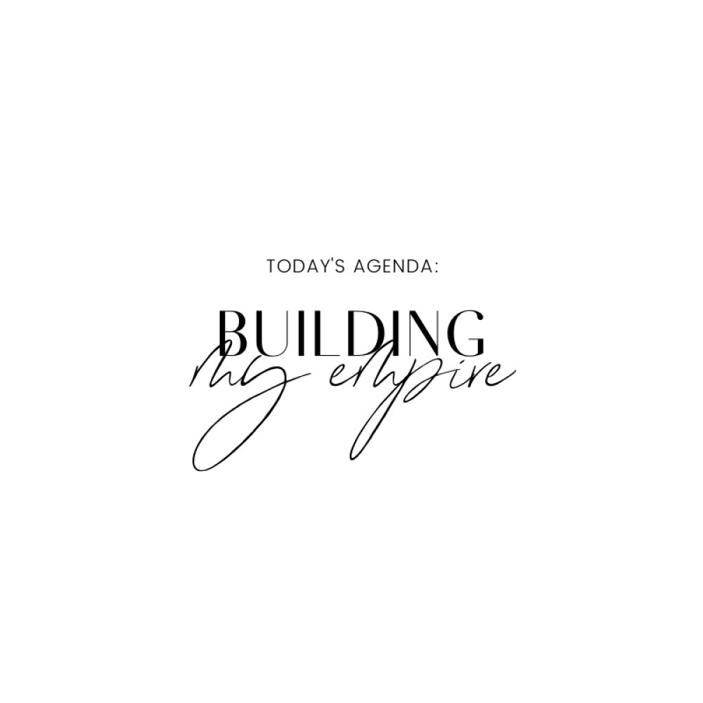 Über Janaina - Building My Empire