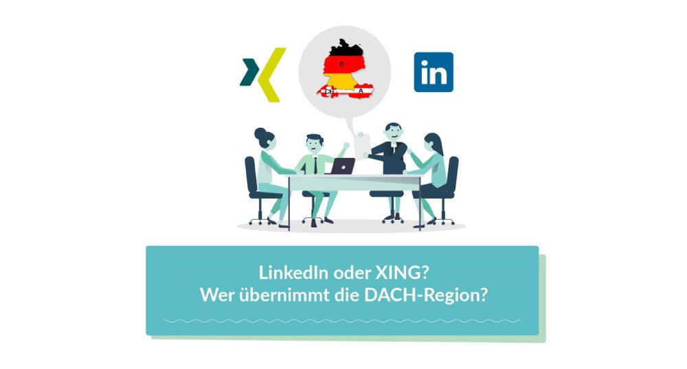 LinkedIn oder Xing? 5 Dinge, die du unbedingt wissen musst.